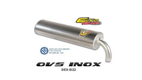 Silencieux ELTO mod. OVS - homologué CIK/FIA en KZ et KZ2