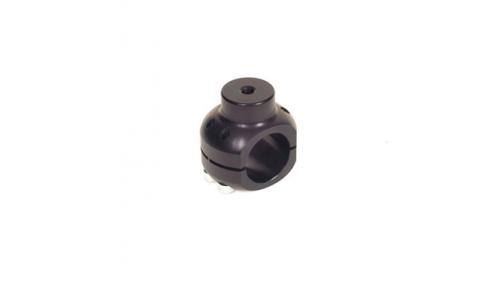 Coquille percée pour fixation de support de pot, perçage 8mm