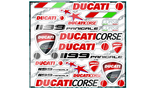 Sticker kit HONDA HRC