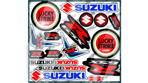 kit sticker DUCATI