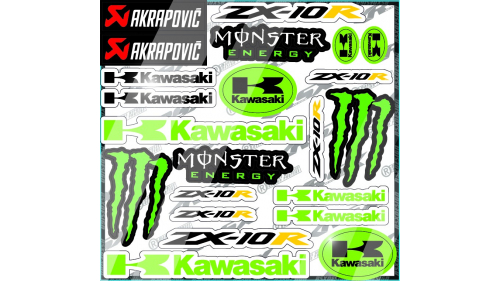kit sticker Honda CBR600