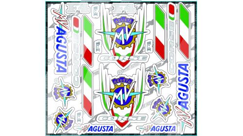 kit sticker HONDA HRC