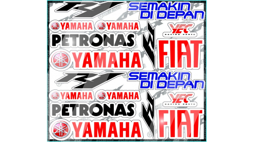 kit sticker 93MM
