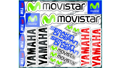 kit sticker YAMAHA R1