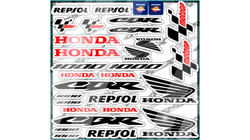 kit sticker YAMAHA Movistar