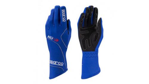 Gants SPARCO KG-3 Blizzard bleus
