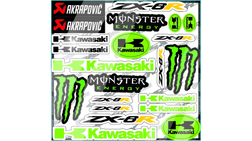 kit sticker YAMAHA R6