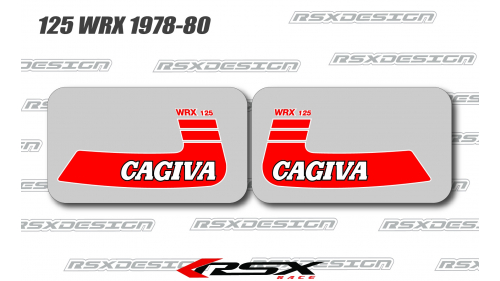 CAGIVA 125 WMX 1978-80 reservoir