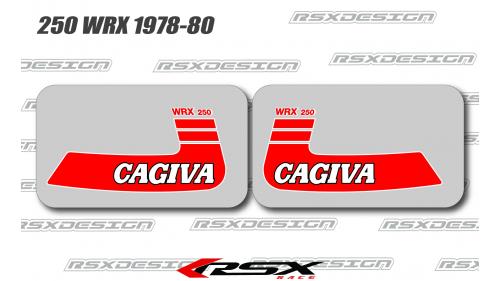 CAGIVA 125-250 WMX 1980-82 reservoir