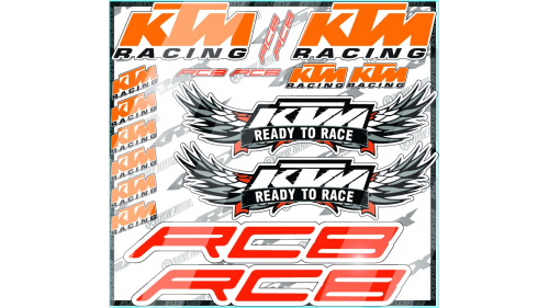 kit sticker KTM RC8