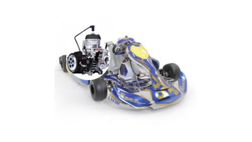 +15 ans - Kart PRAGA 125 boite 6 vitesses Cat KZ