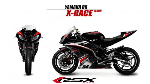 YAMAHA R6 2006-2007 XRACE-NO