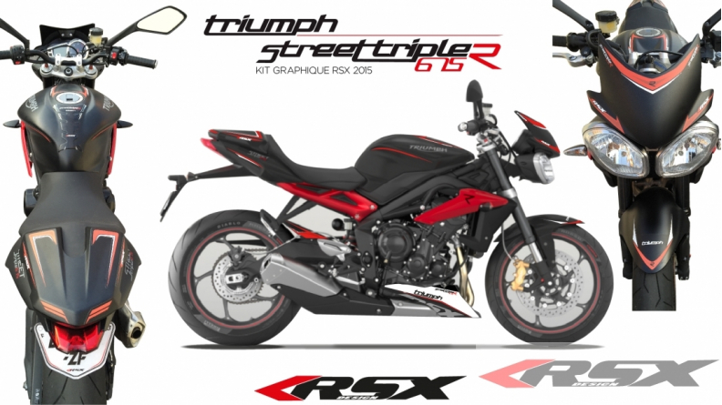 Graphic Kit Triumph Daytona 675 2013 Et