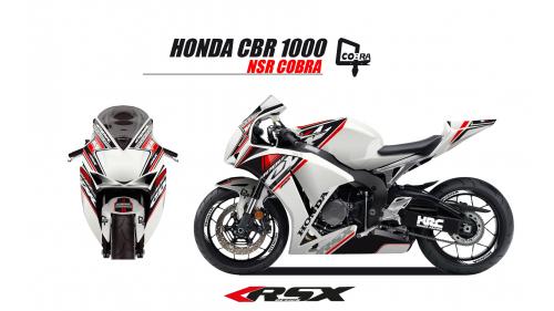 HONDA CBR1000 2012 et + COBRA