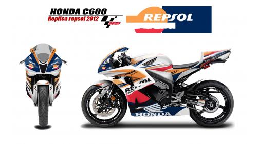 HONDA CBR600 07-12