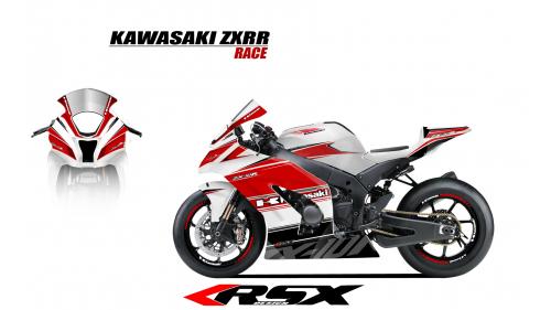 KAWASAKI ZX10R 2011 et + GUNRACE-BL