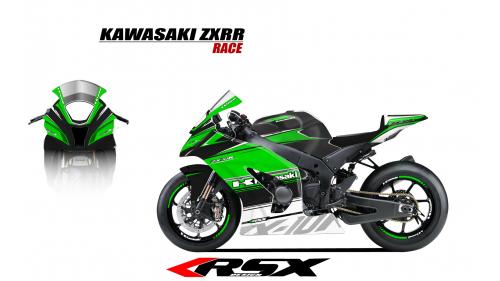 KAWASAKI ZX10R 2011 et + GUNRACE-NO