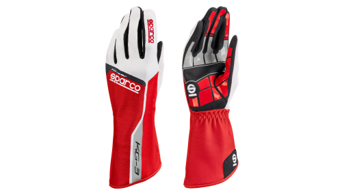Gloves SPARCO KG-3 Track Red