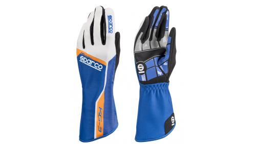 Gants SPARCO KG-3 Track Bleu