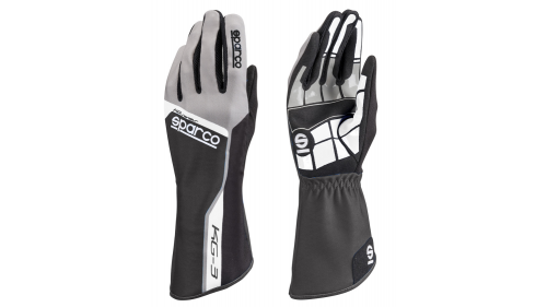 SPARCO KG-3 Track Gloves Black
