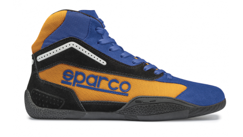 Bottines SPARCO KB-4 Gamma Bleue/Orange
