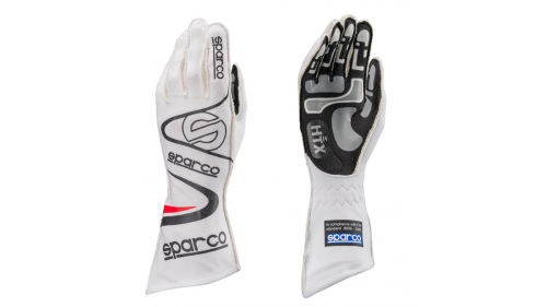 SPARCO Arrow KG-7 Pilot Gloves - White