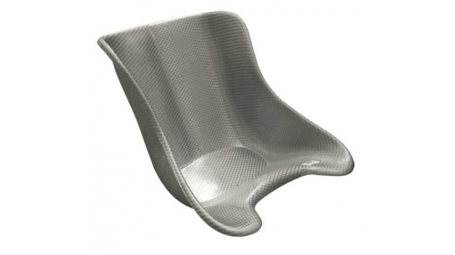 Polyester seat Racing Silver