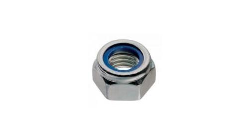 Ecrou Ø 8 mm nylstop autoblocant