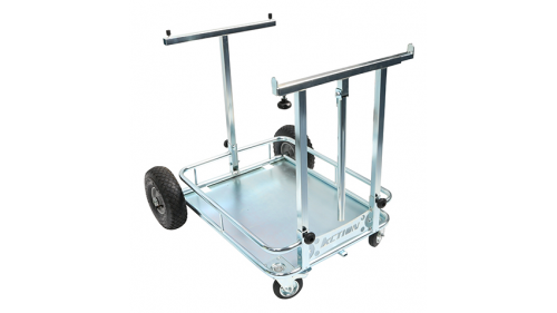 Reinforced chrome kart trolley - ACTION