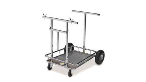 Chrome door trolley chrome - HQ reinforced