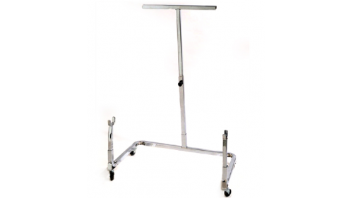 Kart trolley with casters