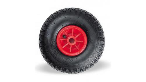 Roue de chariot rouge DRIV'UP Pro & chariot acier