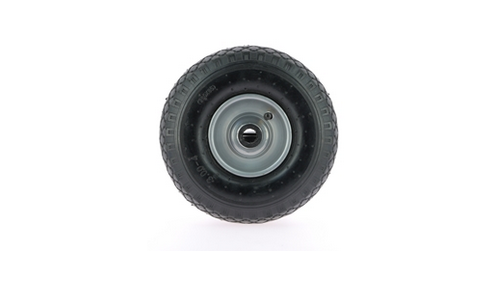 Reinforced wheel - aluminum flange