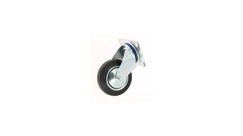 roulette chariot pivotante base 100x80. Black Bedroom Furniture Sets. Home Design Ideas