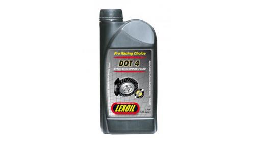 Liquide de frein LEXOIL DOT 4 - 1 litre