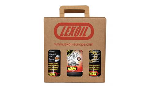 Pack LEXOIL - Huile 996 Ceramic- Graisse châine - Nettoyant Multi-surfaces OFFERT