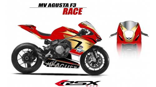 MV AGUSTA F3 RACE BLANC