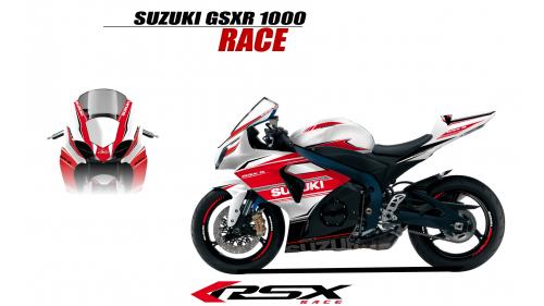 SUSUKI GSXR 1000 2009 et+ GUNRACE-BL