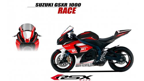 SUSUKI GSXR 1000 2009 et+ GUNRACE-NO
