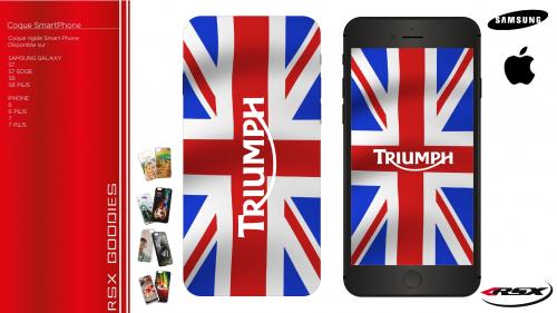 TRIUMPH SmartPhone cover