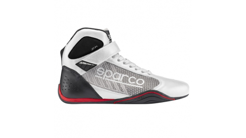 CHAUSSURES SPARCO OMEGA KB-6 BLANC/ARGENT