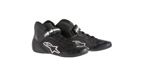 ALPINESTARS TECH1K-S SHOES BLACK/WHITE