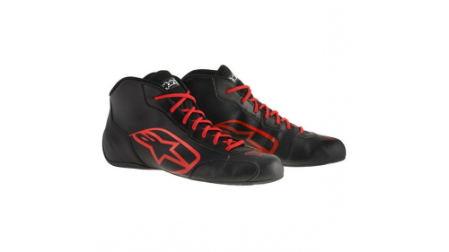 ALPINESTARS TECH1K-S SHOES BLACK/RED
