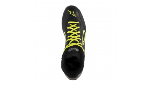 ALPINESTARS TECH1K-S SHOES BLACK/YELLOW