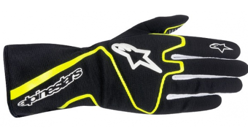 GLOVES ALPINESTARS TECH1-K BLACK / YELLOW