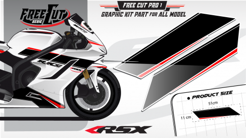 Flank Graphic kit FreeCut Pro