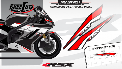 Front fender F1 Graphic kit