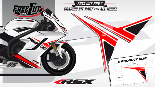 Flank F1 Graphic kit