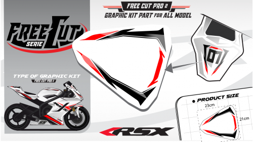 Rear seat F2 Graphic kit