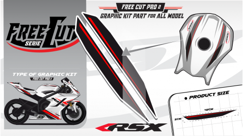 Fuel tank F1 Graphic kit